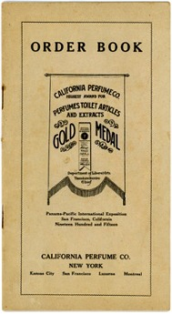 California Perfume Company - Miscellaneous Paper Items